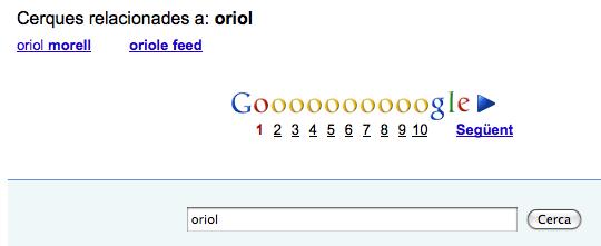 oriol - cerca relacionada